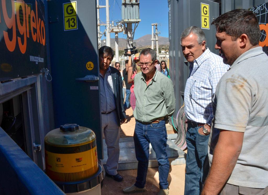 Morales destacó la sustancial mejora que experimentará Jujuy en materia de generación de energía eléctrica.