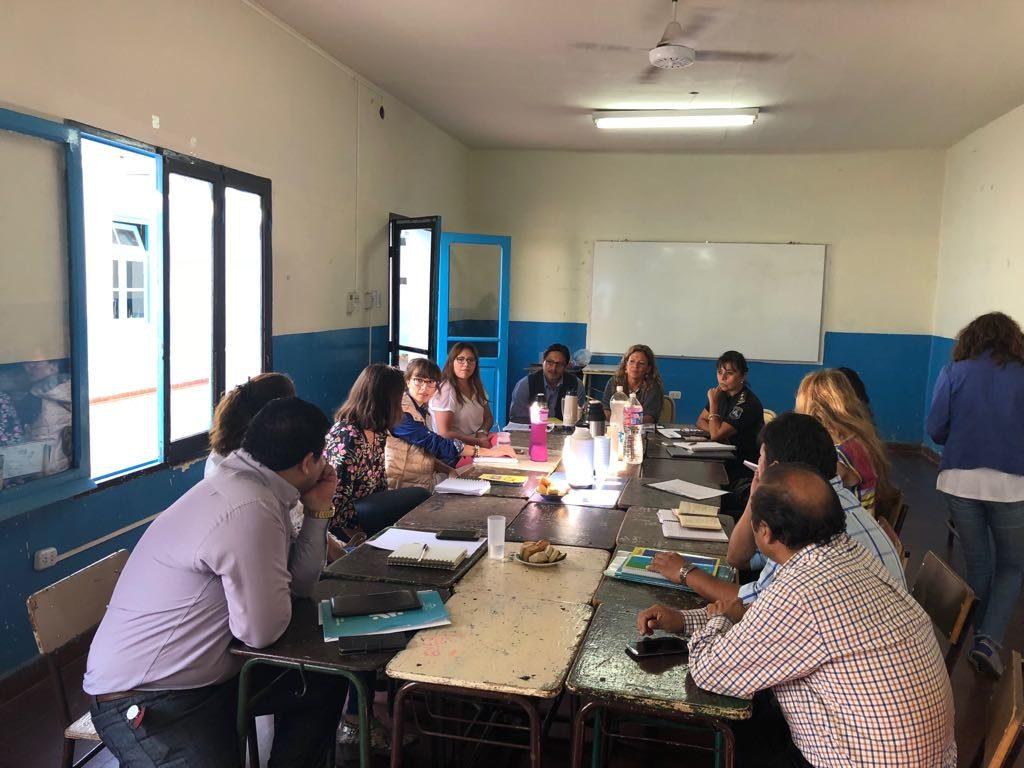 Reunión entre el ISSP y organismos de Género y Paridad