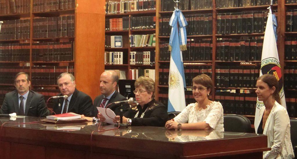 Integrantes de la Comisión Redactora del Código Penal en Jujuy