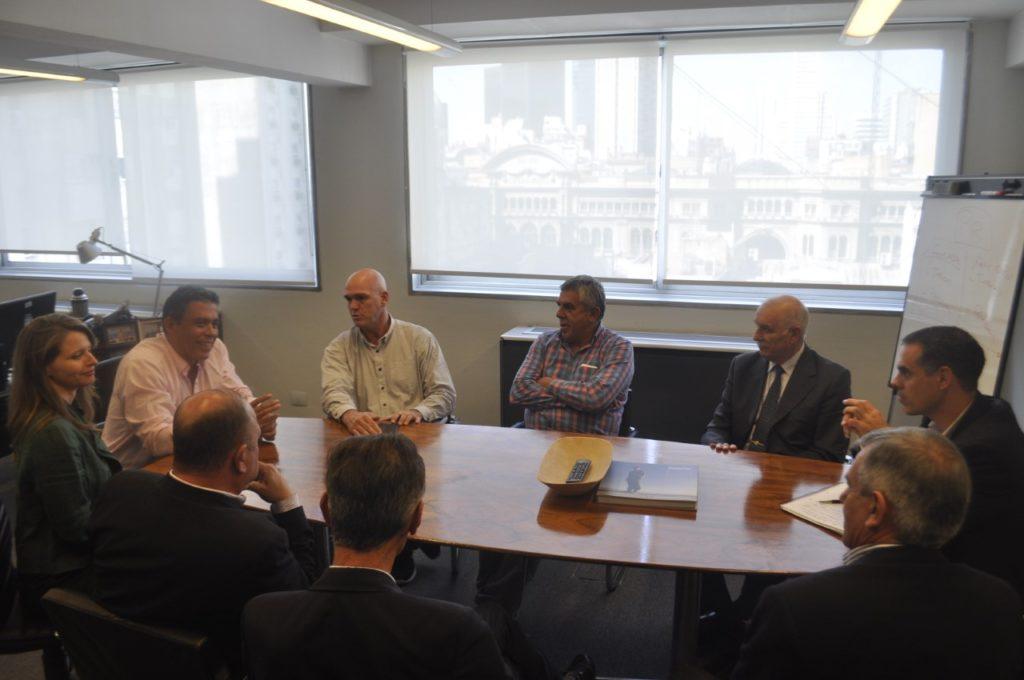 Reunión entre funcionarios de Seguridad de Jujuy y el Subsecretario de Control y Vigilancia de Fronteras